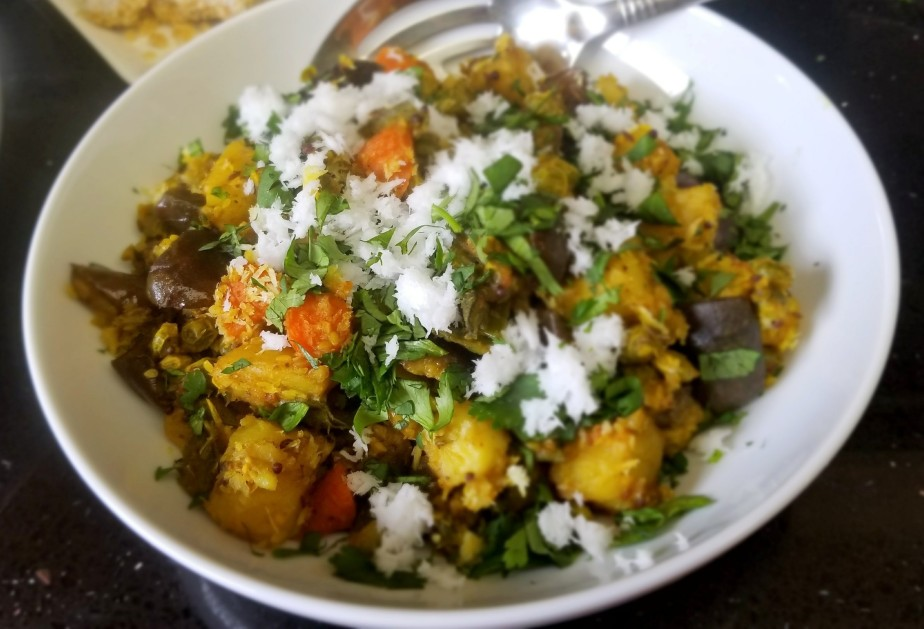 Indian Winter Vegetable Stew (Bhogi Bhaji)