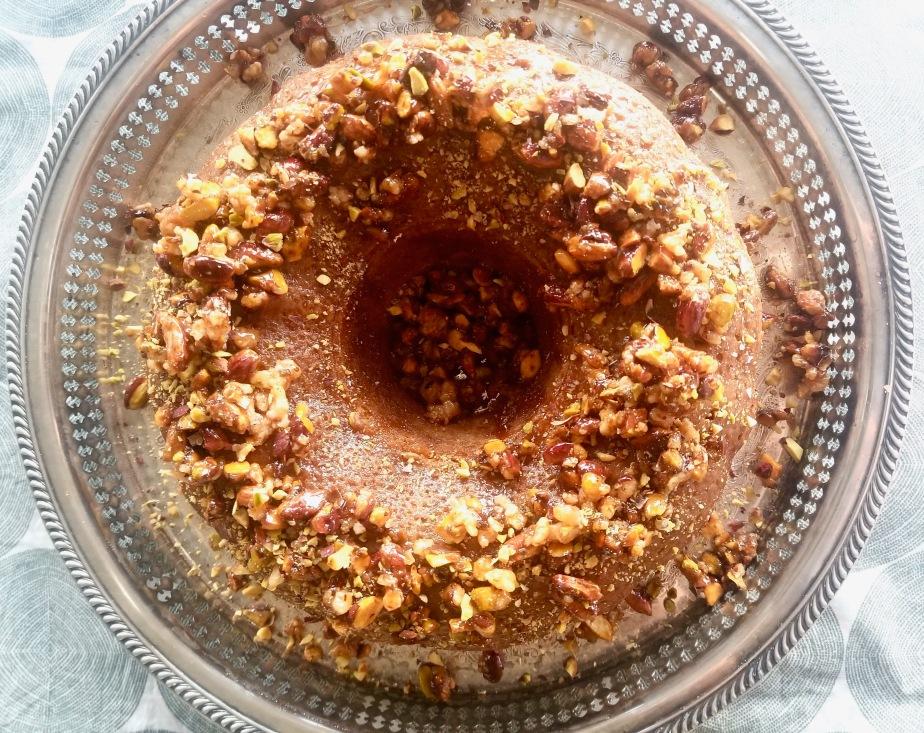 Kesar Pista (Saffron & Pistachio)Cake